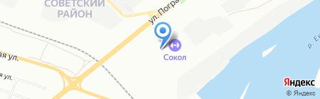 Банкомат ББР Банк на карте Красноярска