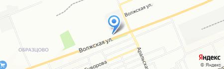 Успех на карте Красноярска