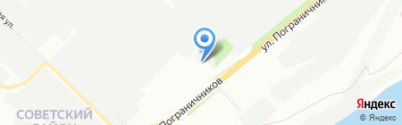 РеалСП на карте Красноярска