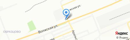 Габарит на карте Красноярска