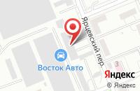 Схема проезда до компании Антар в Красноярске