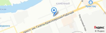 Центр образования №4 на карте Красноярска