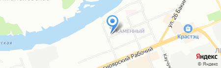 Красноярский колледж радиоэлектроники на карте Красноярска