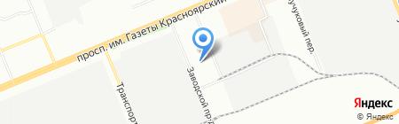 Велл Тур на карте Красноярска