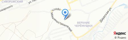 Индустрия на карте Красноярска