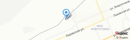 Свой выбор на карте Красноярска