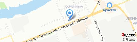 Колор Авто на карте Красноярска