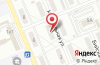 Схема проезда до компании Пульс в Красноярске