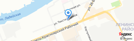 Эталон на карте Красноярска