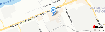 Agogo на карте Красноярска