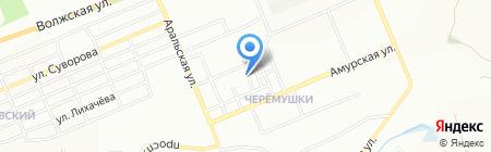 Детский сад №166 на карте Красноярска