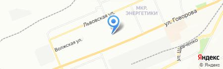 Аптека Радуга на карте Красноярска