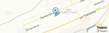 Средняя общеобразовательная школа №53 на карте Красноярска