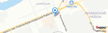 Я трикотаж на карте Красноярска