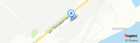 КиК комплект на карте Красноярска