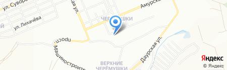 Дарина на карте Красноярска