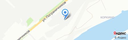 СИБИРСКАЯ ИННОВАЦИОННО-ЛЕСНАЯ КОМПАНИЯ+ на карте Красноярска