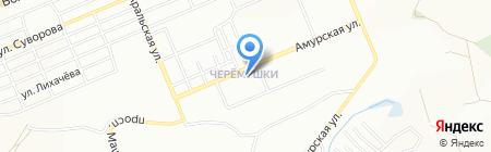 Киоск по продаже молочных продуктов на карте Красноярска