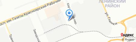Дотекс на карте Красноярска