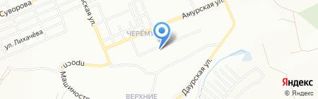 Киоск по продаже хлебобулочных изделий на карте Красноярска