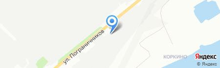 Краспромтехника на карте Красноярска