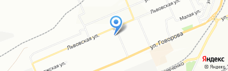 Ермолинские полуфабрикаты на карте Красноярска