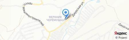 Анжелика на карте Красноярска