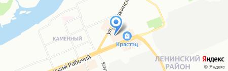 Miss Rin на карте Красноярска