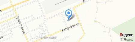 Красноярская санаторная школа-интернат на карте Красноярска