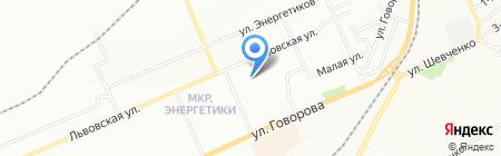 Детский сад №88 на карте Красноярска