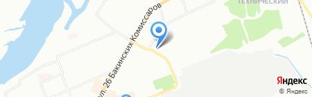 СеверСпецСтройРемонт на карте Красноярска