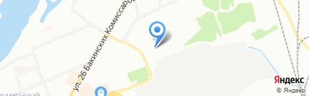 Дом пряничный на карте Красноярска