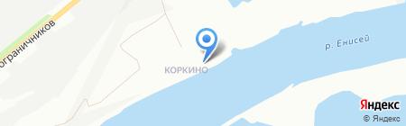 АТК на карте Красноярска