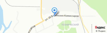 Ангар+ на карте Красноярска