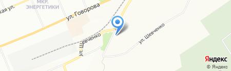Арманд на карте Красноярска