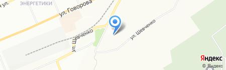 Детский сад №256 на карте Красноярска