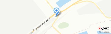 АЗС на карте Красноярска
