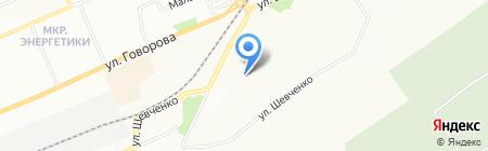 Средняя общеобразовательная школа №31 на карте Красноярска