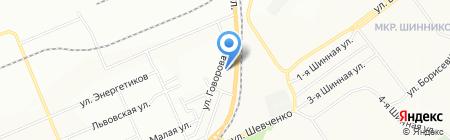 КрасКлининг на карте Красноярска