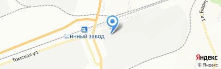 Орион на карте Красноярска