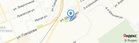 Дара на карте Красноярска