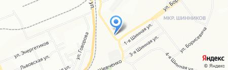 Банкомат Банк Клиентский на карте Красноярска