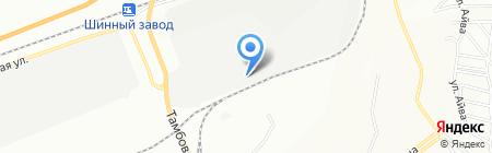 Димет на карте Красноярска