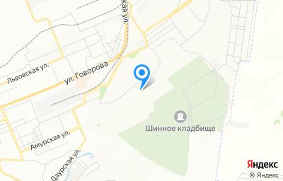 Местоположение на карте пункта техосмотра по адресу г Красноярск, ул Шевченко, д 81 стр 13