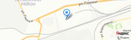Горизонт на карте Красноярска