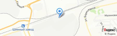 Стальмост на карте Красноярска