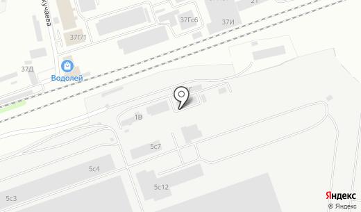 НОВОДЕЛ. Схема проезда в Красноярске