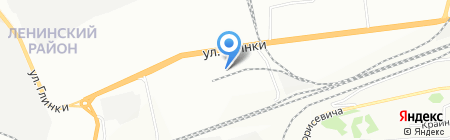 Дары Сибири на карте Красноярска