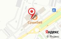 Схема проезда до компании Русли в Красноярске