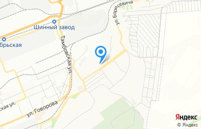 Местоположение на карте пункта техосмотра по адресу г Красноярск, ул Борисевича, зд 30Б